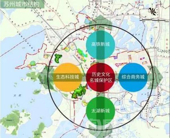 历时5年,跃进的吴江黑马——太湖新城