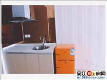 轻轨4号线旁,吾悦广场单身公寓,家具家电齐全拎包入住,有钥匙