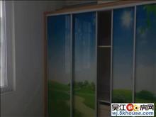 富贵苑85平2000元精装两室 家电齐全采光无遮 拎包入住