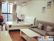 万亚公寓精装1房、家具家电齐全、包物业、看房随时方便、