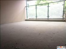 奥林清华东区毛坯 满两 前面洋房无遮挡 带30平储藏室 4房