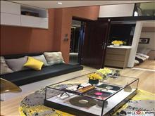 聚珑阁酒店式公寓,4.5米挑高通燃气,民用水电隔成做好