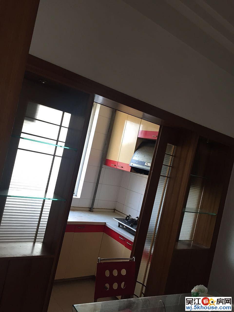 吴模家园西区精装两房两厅 满两年 极好楼层 送车库18平