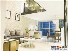 复式挑高,品质公寓房,三房性价比高,通燃气民用水电,紧靠轻轨