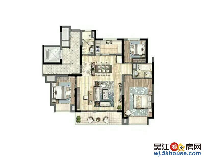 新东华庭,纯电梯花园洋房小区 清盘均8700一平方 近欧尚