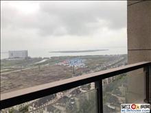 仅此一套湖景房 绿地太湖城高层128平毛坯满2年双阳台楼层好