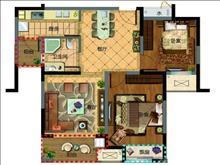 瑞景国际 99平 小三房 134万 现房 房东包