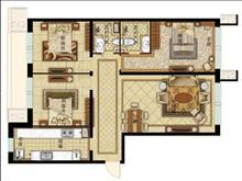 龙河花园 精装2室900元 阁楼 2台空调 照片真实 有钥匙